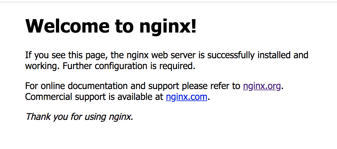 Nginx访问页